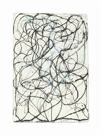 hemlock 1 by brice marden