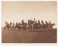brulé war-party by edward sheriff curtis
