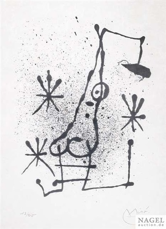 hai ku by joan miró