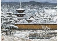 yamatoji in snow by sumio goto