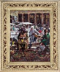 mercato a roma by enrico della (lionne) leonessa