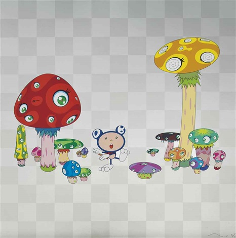 guru guru melting dob d and melting dob e 3 works by takashi murakami
