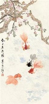 春日鱼乐图 by jiang hanting
