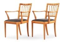 karmstolar (model 1165) (pair) by josef frank
