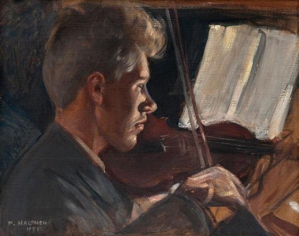 fiddler by pekka halonen