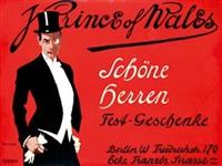 prince of wales schöne herren fest-geschenke by friedrich carl georg (fritz) rumpf