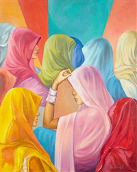 femmes voilées by nino japaridze