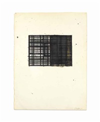 drawing for bob duran (double-sided) by brice marden