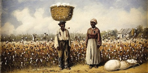 cotton pickers in the fields by william aiken walker