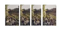 sans titre (4 works) by jean-luc mylayne