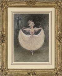 la danseuse by henry stephen ludlow