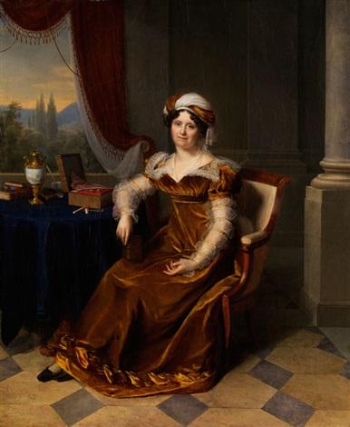 portraitbildnis der madame marbon by firmin massot