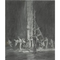 transition team by mark tansey