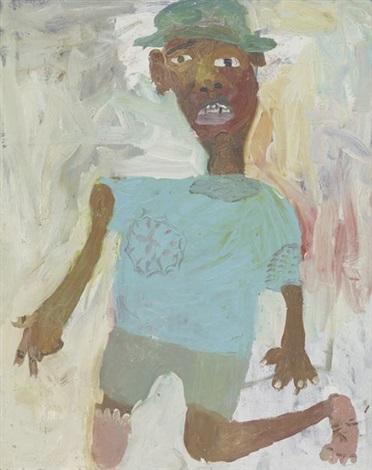 untitled self portrait by chris ofili