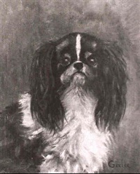 the king charles spaniel 'girlee' by e.m. mrs. nelson