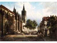 ansicht von rothenburg by henry jackel