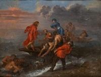 pesca milagrosa by flemish school