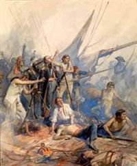 après le combat naval by dominique charles fouqueray