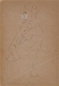 ritratto virile by leonor fini