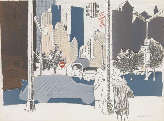 street scene by fairfield porter