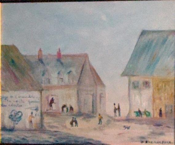 place du village by etienne picard