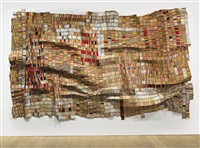 man's cloth ii by el anatsui