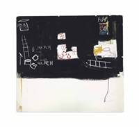 untitled (max roach) by jean-michel basquiat