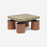 custom coffee table by massimo vignelli