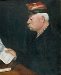porträt eines offiziers by antoine druet