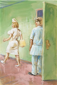 tropical hospital by john currin