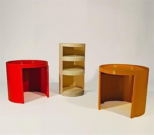 ensemble de trois meubles bonga various sizes by jean louis avril
