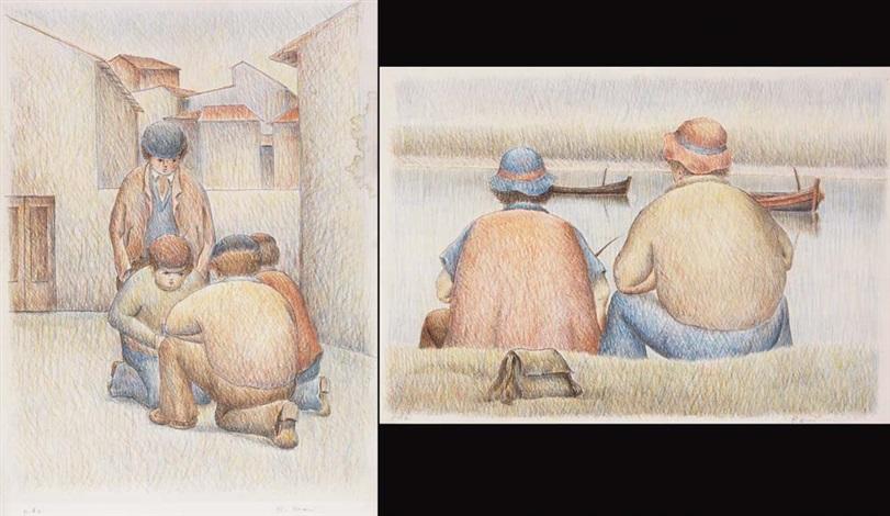 pescatori il gioco 2 works by roberto masi