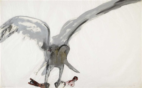 eagle victims by nancy spero