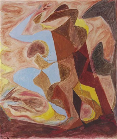 femme surprise by andré masson