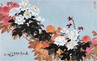 春之歌 镜片 设色纸本 by luo guoshi