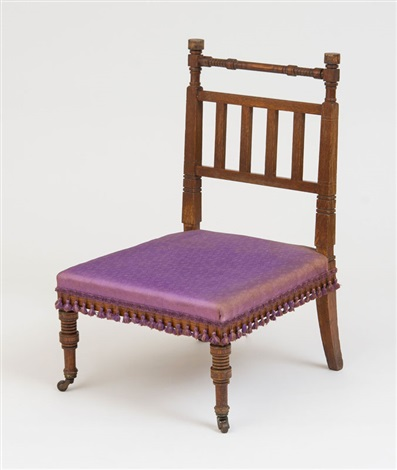 Herter Brothers, Parlor Chair By Herter Brothers