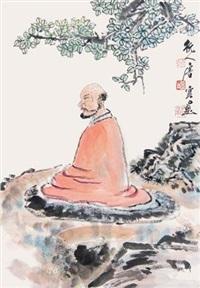 菩提罗汉 by tang yun