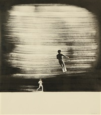 running and jumping man by pyotr belenok