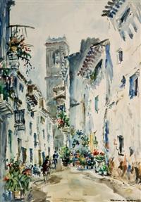 calle soleada by juan sevilla saez