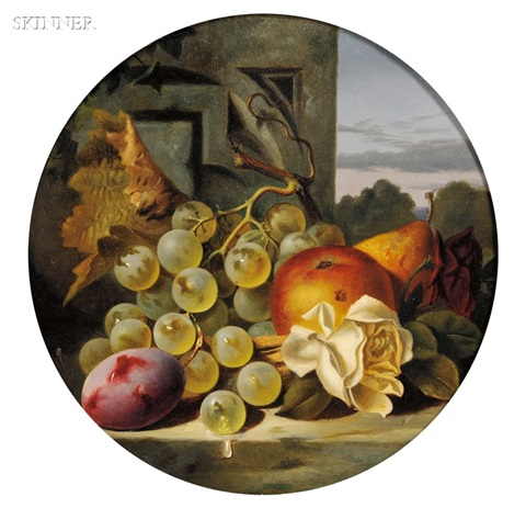 lot of two still lifes by charles e baskett