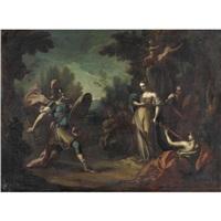 scena mitologica by filippo falciatore