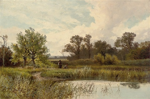 amongst the rushes by john horace hooper