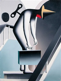 wind me up kick me down by mark kostabi