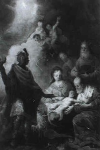 anbetung der konige by johann zick