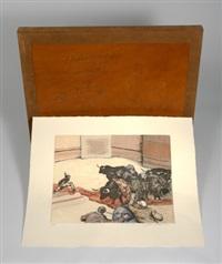 destrozones y tranquedos (portfolio of 13) by manuel alcorlo