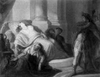der selbstmord der cleopatra by august von heckel