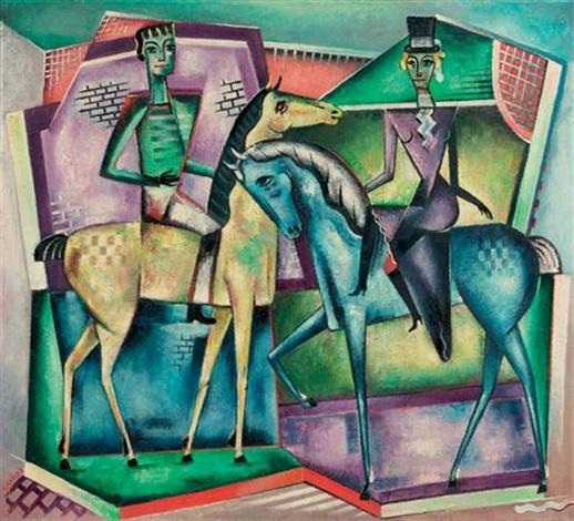 ontmoeting te paard horseriders by reimond kimpe