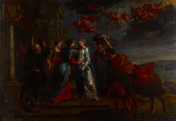 la visitation by willem van herp the elder