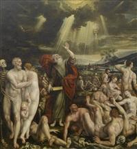 die vision des propheten ezechiels von der auferstehung der toten by quentin metsys (massys) the younger