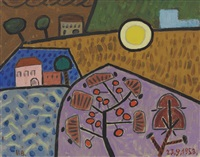 paysage by victor brauner